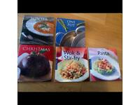 Lovely collection of Marks & Spencer's cook books x5