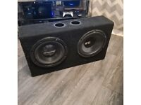 """2x 12"""" SUBWOOFERS"""