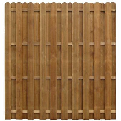 vidaXL Hit & Miss Fence Panel 170x170cm FSC Impregnated Pinewood Patio Barrier