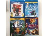 Kids blue ray DVDs