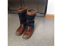 Dubarry sailing boots size 10