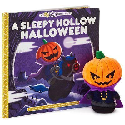 Hallmark Itty Bittys Book 2017 Sleepy Hollow Halloween Icabod Crane Headless NWT - Halloween 2017 Script