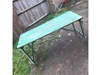 VINTAGE RUSTIC STYLE WORKBENCH