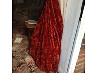 Curtains 2 pairs. For lounge / dining room. Long and Wide Ex. Cond