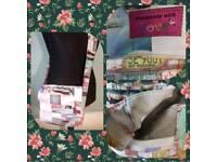 Handmade messenger bag with car print