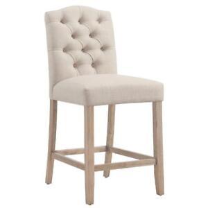 Beige Counter Stool Sale-WO 7657 (BD-2523)