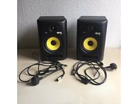 KRK Rokit 6 Speaker Bundle (Boxed)