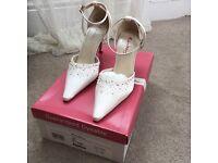 Rainbow Club Bridal Shoes ~ Daphne ~ Size 4 BRAND NEW RRP £79-89