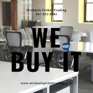 WANTED : We Buy All Used Office Furniture & Equipment