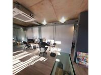 Modern Open plan creative workspace avaialable for hire