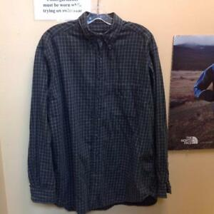 Eddie Bauer Button-Up LS Shirt(LLRJA2)