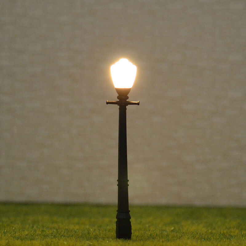 10 pcs OO HO Scale Lamp Bulbs made Model Lamppost Light +Free Resistors #A11HO