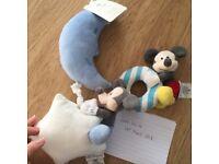 Mickey Mouse nursery baby items toys