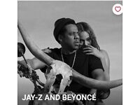 Beyonce and Jay Z tickets Manchester Ethiad Stadium 13th June