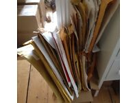GONE - Used Jiffy Bags, Plastic Envelopes & Small Cardboard Boxes