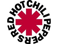 RED HOT CHILI PEPPERS STANDING TICKETS x2 GLASGOW