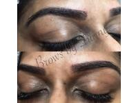 Micro Blading, 3D eyebrow, powder brow, combo brow only £150 including 1 free top up