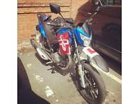 Lexmoto assault 125 motorcycle