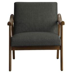 Grey Wooden Accent Chair Sale-WO 7729 (BD-2561)