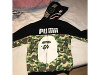 Bape x Puma hoodie