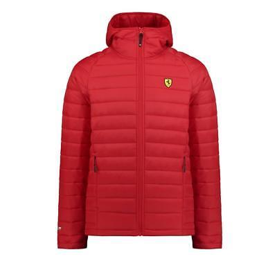 Scuderia Ferrari Formula 1 Men's  Red Padded Jacket