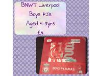 Boys LFC PJ's BNWT