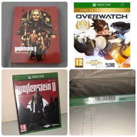 Xbox one wolfenstein 2 and overwatch GOTY