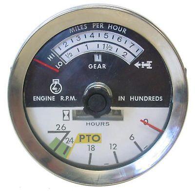 Ih Farmall 706 786 806 886 1206 New Tachometer With Knob