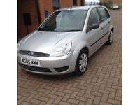 FORD FIESTA LX 5DOOR (05) NICE MILES, HPICLEAR.