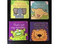 4 'That's not my' books