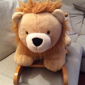 Mamas & Papas Child's rocking lion in good condition collect Sprowston