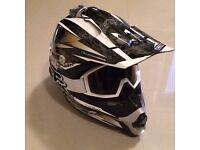 Motocross Gear, Helmet, Googles, Boots. Pressure suit