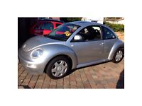 VW BEETLE 2L 2000, LOW MILAGE GOOD CONDITION, FULL SERVICE HISTORY-1 prev owner, 10 months MOT