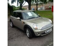Mini Hatchback. Long MOT, recent service, 66680 miles.