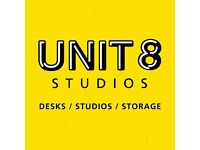 UNIT 8 - St Werburghs - Creative and Design Studios / Desk Spaces Available