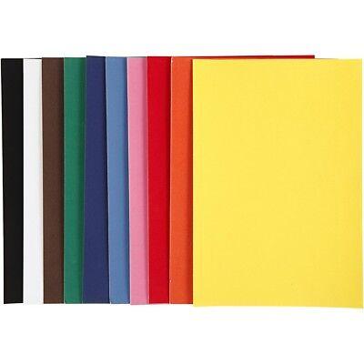 10 Blatt VELOUR PAPIER DIN A4 Velourpapier mit Samt-Oberfläche 140g/m² 2050