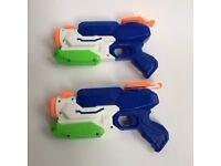 2x Nerf Freezefire water pistols