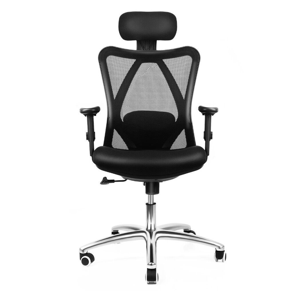 Magnificent Intey Ergonomic Mesh Office Chair High Back Desk Chair With Adjustable Headrest In Broomhouse Edinburgh Gumtree Home Interior And Landscaping Ologienasavecom