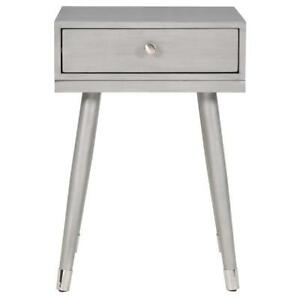 Grey Accent End  Table Sale-WO 7546 (BD-2592)