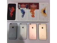 APPLE IPHONE 6S 16GB UNLOCKED MINT CONDITION COMES WITH WARRANTY & RECEIPT