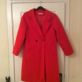 Ladies Red Jacket and Red Coat.
