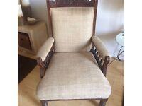 Vintage Edwardian Gentleman's Chair
