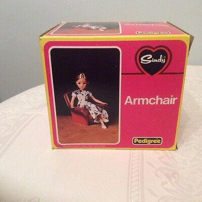 Vintage Sindy Doll House Armchair  in original box