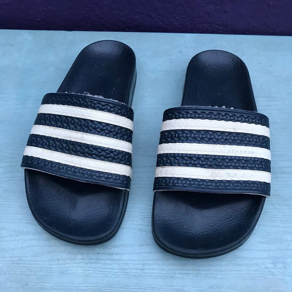 307836d9d Adidas adilette flip flop sliders size 6