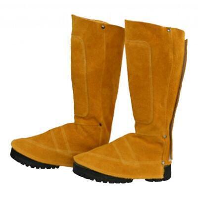 Welding Spats Shoe Cover Flame Resistant Welder Working Feet Protector