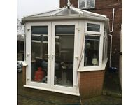 UPVC Conservatory & fitted blinds