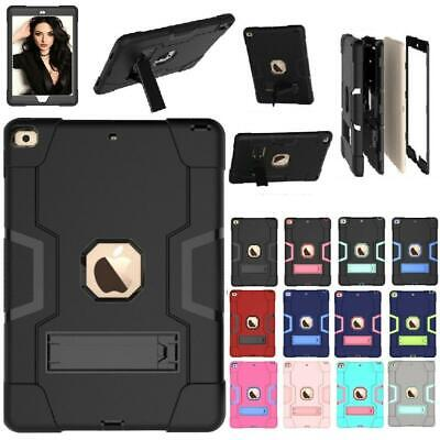 For iPad 7th Generation 10.2 2019 Case Shockproof Rubber Arm