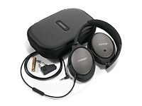 **Brand New** BOSE QC25 Acoustic Noise Cancelling Headphones with Spare Cable - Apple Devices