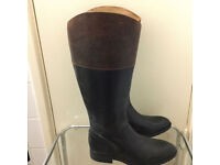 Brand new leather boots in very good condition only £30