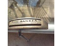 Letters golf putter the Banker
